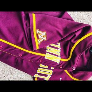 online store 1b4fd fcf68 Minnesota Gophers Baseball Jersey